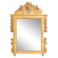 Louis Seize Wall Mirror, Late 18th Century