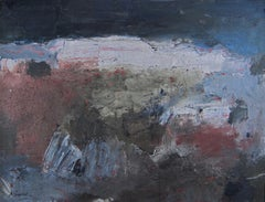 1950s abstract expressionist painting by California artist Louis Siegriest