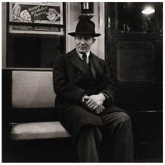 Louis Stettner, Subway New York, 1946, Printed, circa 1990
