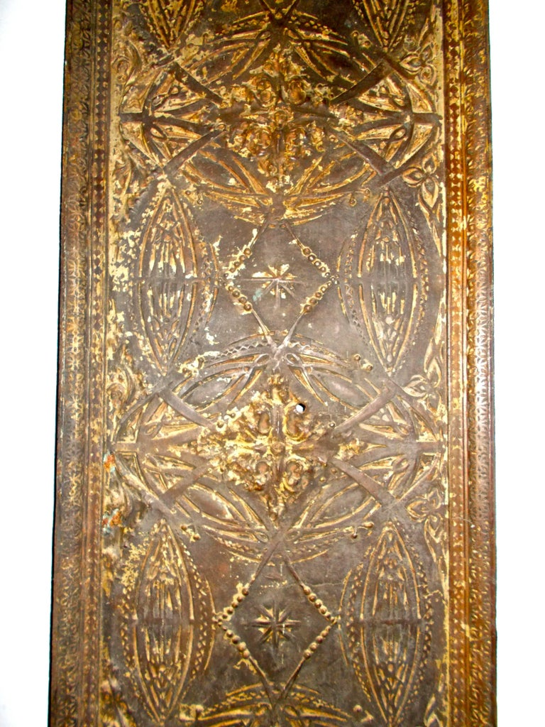 Arts and Crafts Louis Sullivan Cast Iron Elevator Casing from the Chicago Stock Exchange, 1893 For Sale