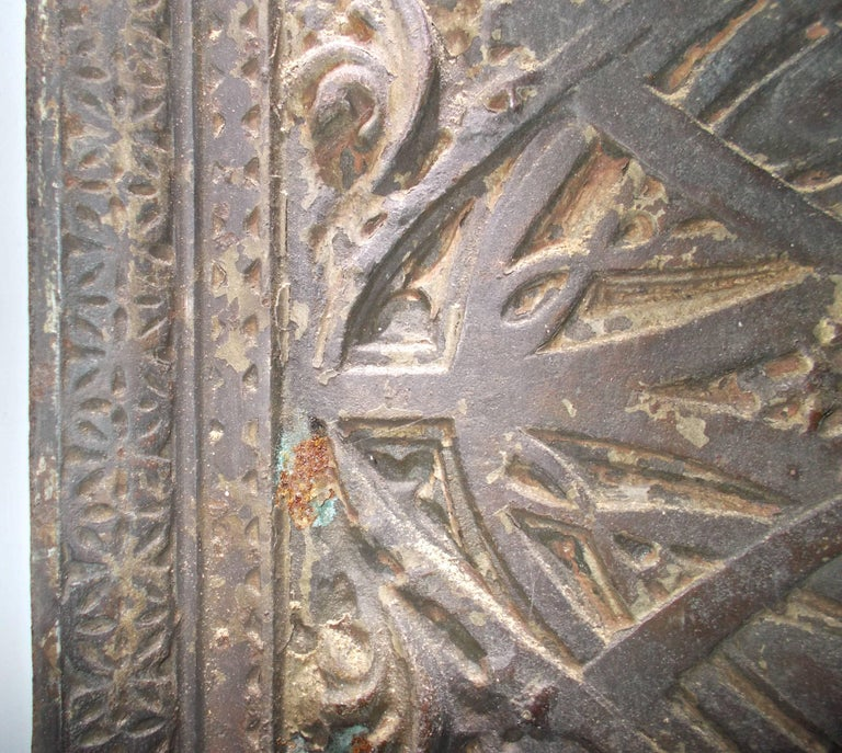 Louis Sullivan Cast Iron Elevator Casing from the Chicago Stock Exchange, 1893 For Sale 2