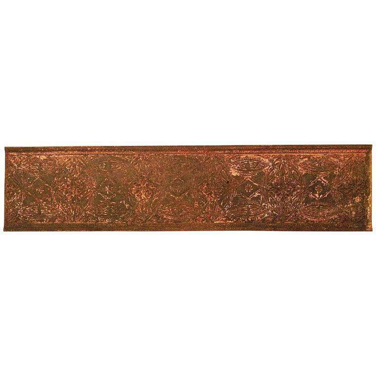 Louis Sullivan Cast Iron Elevator Casing from the Chicago Stock Exchange, 1893 For Sale