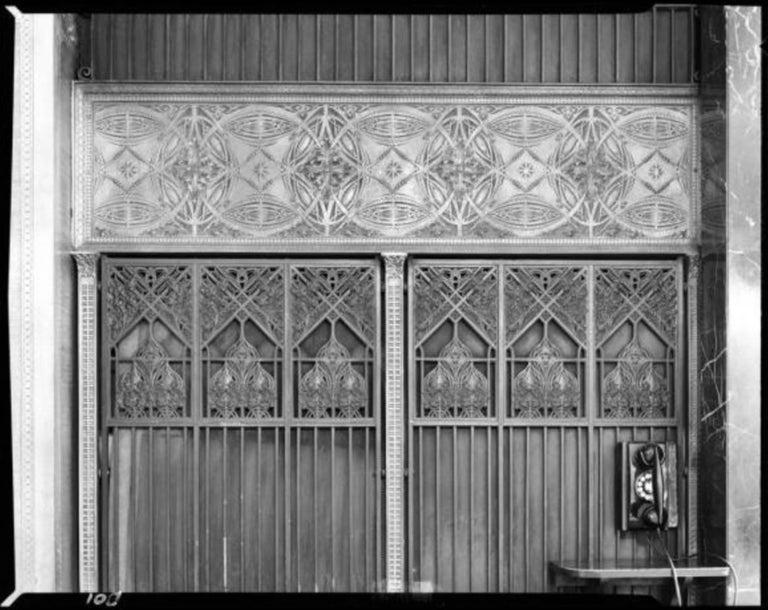 Copper Louis Sullivan Decorative Panel, 1893 Chicago Stock Exchange For Sale