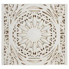 "Louis Sullivan Designed Plaster Frieze ""Star-Pod"" Garrick Theater Chicago"