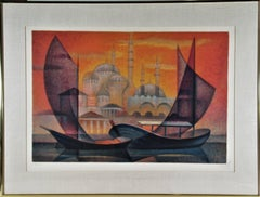Coucher de Soleil sur Istanbul
