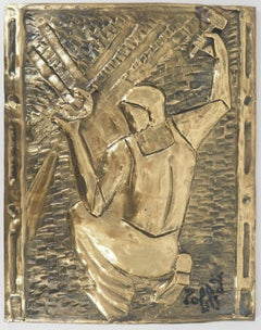 The Blacksmith - Original Bronze Sculpture, Handsigned
