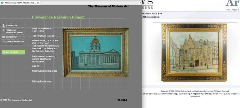 Le Pont Des Arts For Sale 1