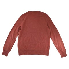 Louis Vuitton 176989 Burgundy Sweater
