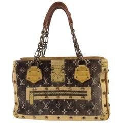 """Louis Vuitton 2004 limited edition """"Trompe L'Oeil"""" shoulder bag"""