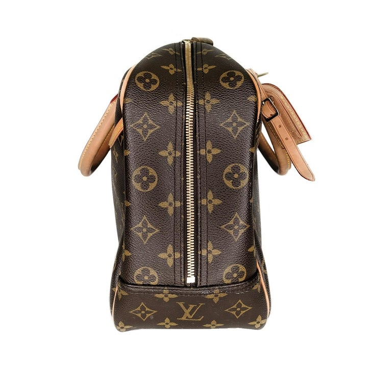 Louis Vuitton 2005 Monogram Canvas Deauville Bag In Good Condition For Sale In Scottsdale, AZ