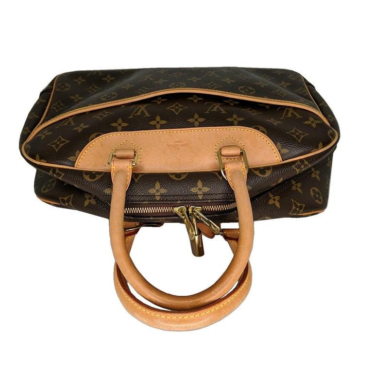 Louis Vuitton 2005 Monogram Canvas Deauville Bag For Sale 1