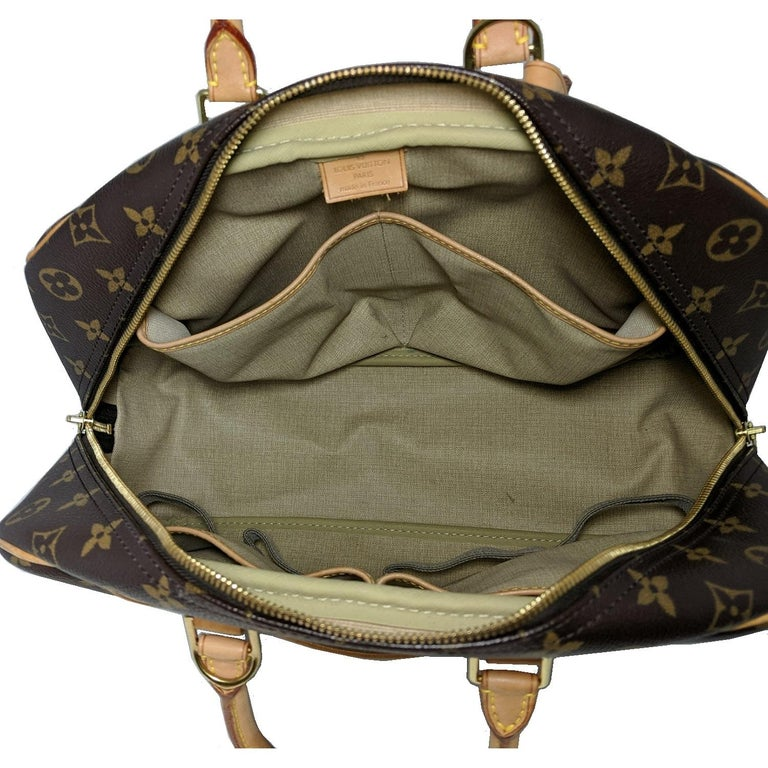 Louis Vuitton 2005 Monogram Canvas Deauville Bag For Sale 2