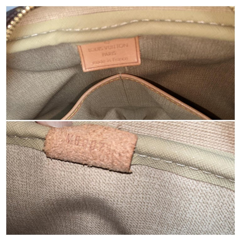 Louis Vuitton 2005 Monogram Canvas Deauville Bag For Sale 3