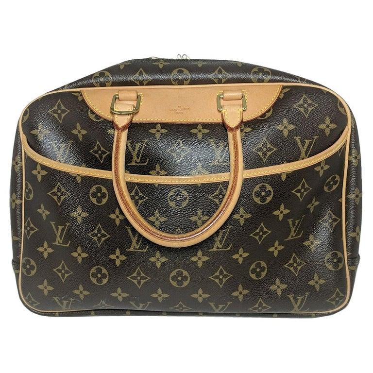 Louis Vuitton 2005 Monogram Canvas Deauville Bag For Sale
