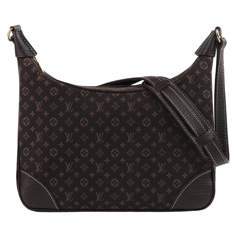 "LOUIS VUITTON 2008 ""Lin Boulogne"" Monogram Canvas Zip Top Hobo Shoulder Bag"