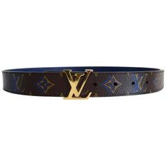 Louis Vuitton 2013 Reversible Monogram Belt
