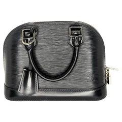 Louis Vuitton 2014 Black EPI Alma BB Satchel