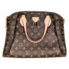 Louis Vuitton 2020 Monogram Rivoli MM Satchel