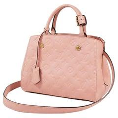 LOUIS VUITTON 2WAY shoulder bag MontaigneBB Womens handbag M44123 pink