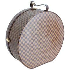 Louis Vuitton 50cm Boite Chapeaux Large Hat Box Damier Canvas Luggage Rare