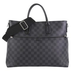 Louis Vuitton 7 Days A Week Handbag Damier Graphite