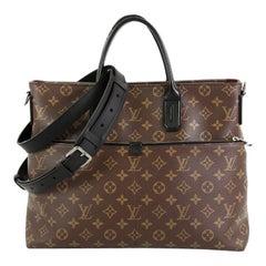 Louis Vuitton 7 Days A Week Handbag Macassar Monogram Canvas