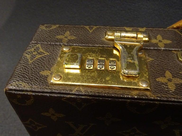 Late 20th Century Louis Vuitton 70s Briefcase  Attaché-Case President