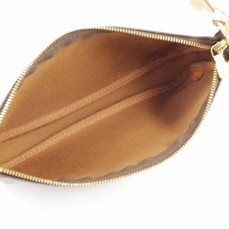 LOUIS VUITTON accessories pouch Pochette Accessoires Womens pouch M40712 brown For Sale 5