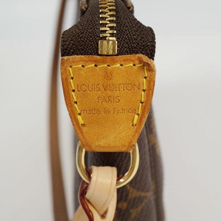 LOUIS VUITTON accessories pouch Pochette Accessoires Womens pouch M40712 brown For Sale 6