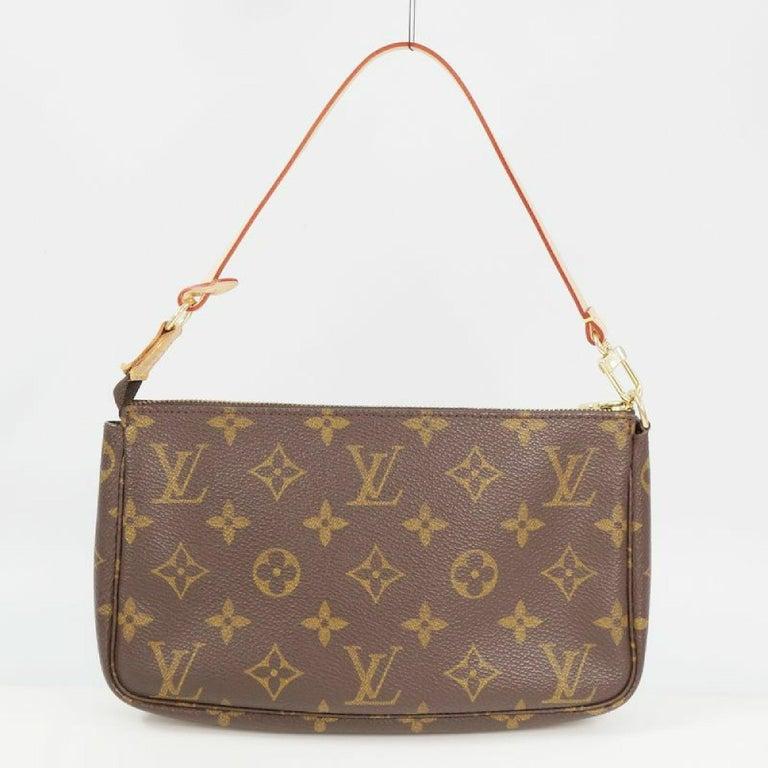 Brown LOUIS VUITTON accessories pouch Pochette Accessoires Womens pouch M40712 brown For Sale