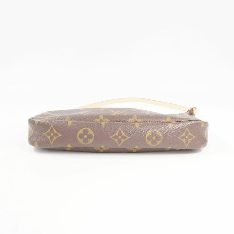 LOUIS VUITTON accessories pouch Pochette Accessoires Womens pouch M40712 brown In Good Condition For Sale In Takamatsu-shi, JP