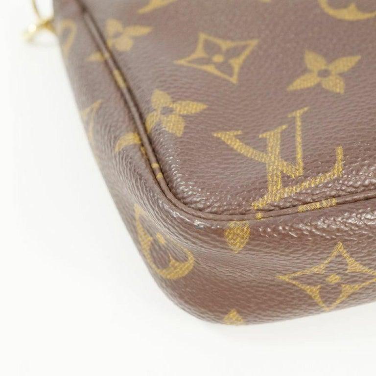 Women's LOUIS VUITTON accessories pouch Pochette Accessoires Womens pouch M40712 brown For Sale