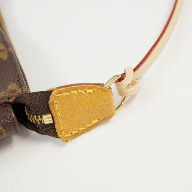 LOUIS VUITTON accessories pouch Pochette Accessoires Womens pouch M40712 brown For Sale 2
