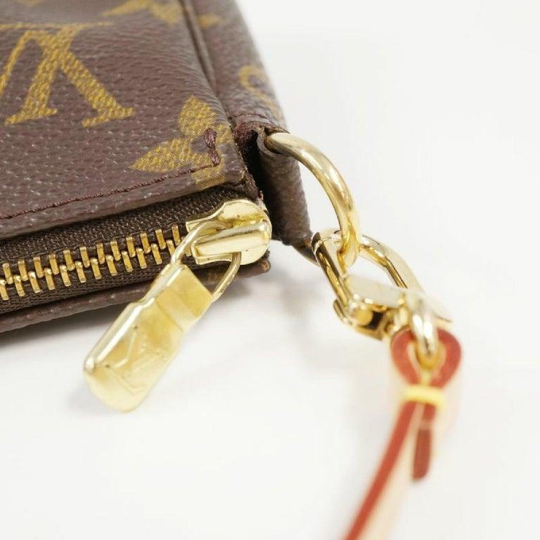 LOUIS VUITTON accessories pouch Pochette Accessoires Womens pouch M40712 brown For Sale 3