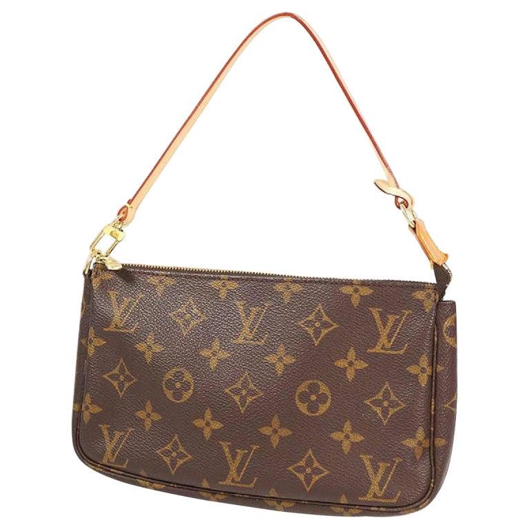 LOUIS VUITTON accessories pouch Pochette Accessoires Womens pouch M40712 brown For Sale