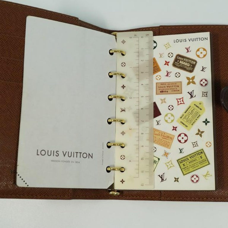 LOUIS VUITTON Agenda PM unisex notebook cover R20005 For Sale 7