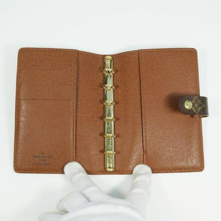 LOUIS VUITTON Agenda PM unisex notebook cover R20005 For Sale 2