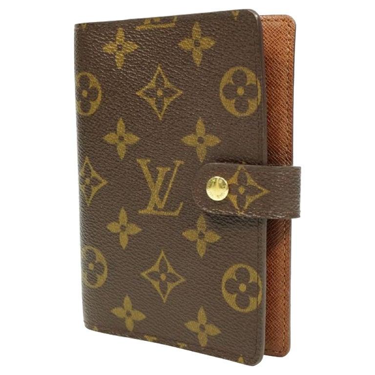 LOUIS VUITTON Agenda PM unisex notebook cover R20005 For Sale