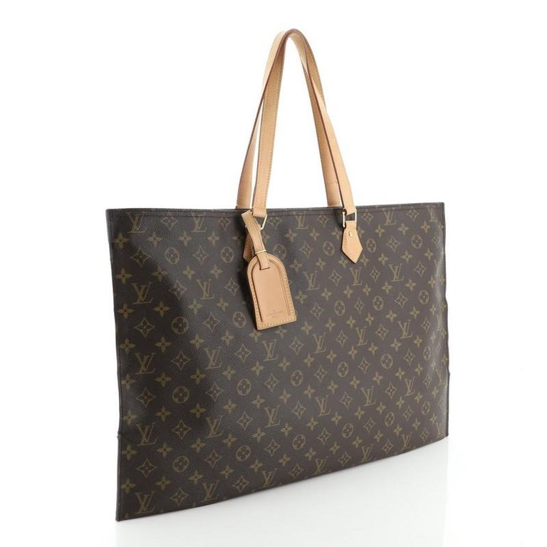 Louis Vuitton All In Handbag Monogram Canvas GM In Good Condition For Sale In New York, NY