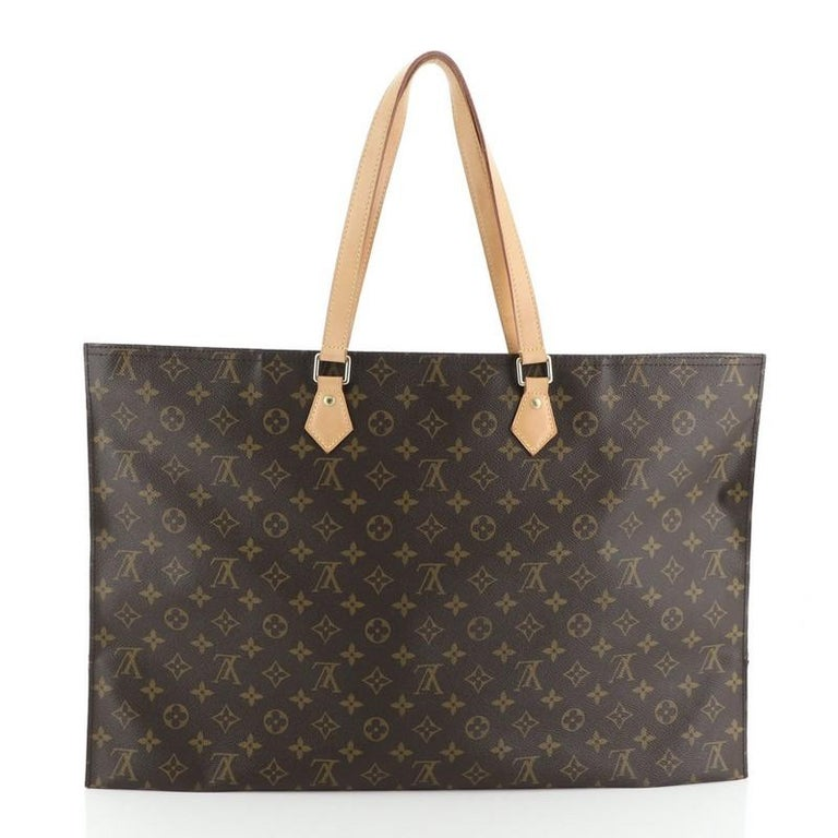 Women's or Men's Louis Vuitton All In Handbag Monogram Canvas GM For Sale