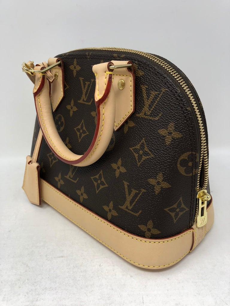 b3dcfbee4855 Louis Vuitton Alma Bb Crossbody Bag At 1stdibs. Louis Vuitton Pochette Rift.  Louis Vuitton Pochette Rift Damier Ebene Coated Canvas Lxrandco