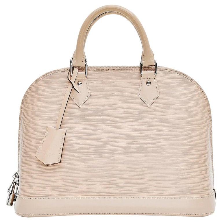 Louis Vuitton Alma Epi Leather Bag For Sale