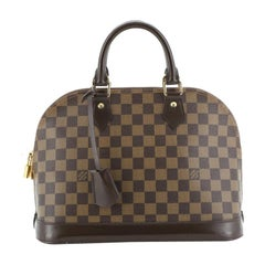 Louis Vuitton Alma Handbag Damier PM