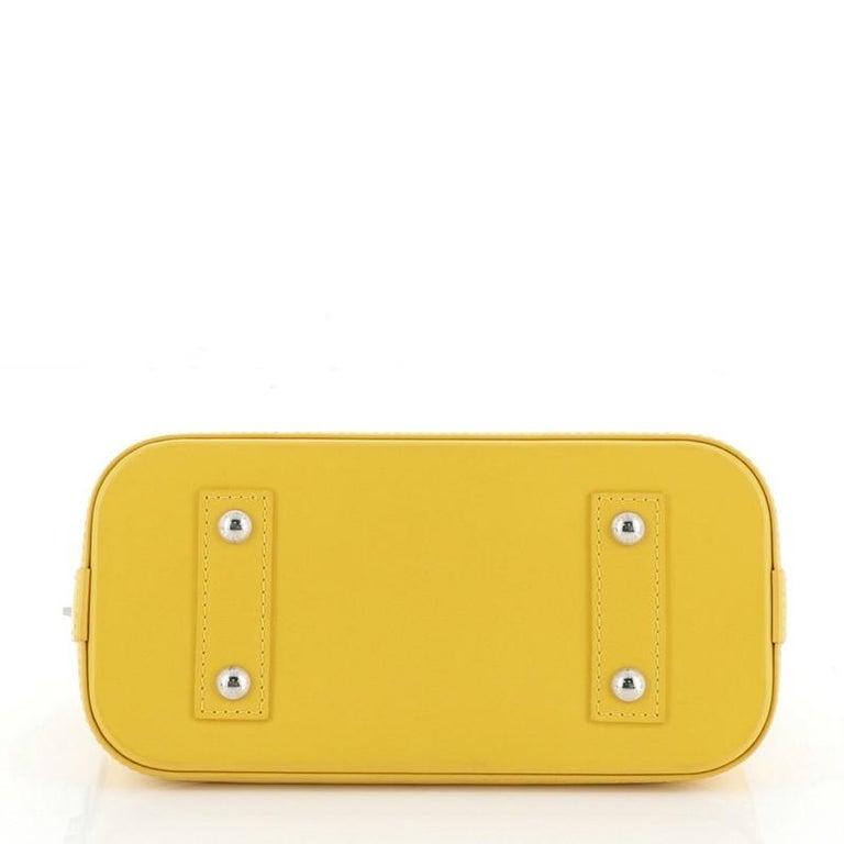 Louis Vuitton Alma Handbag Epi Leather BB For Sale 1