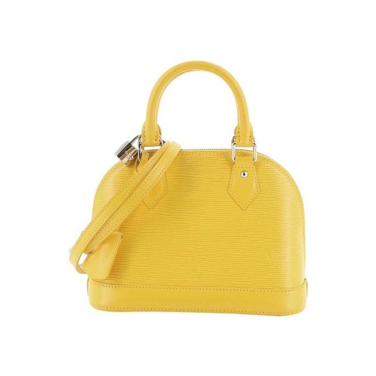 Louis Vuitton Alma Handbag Epi Leather BB For Sale