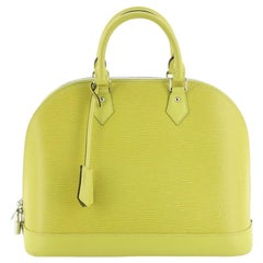 Louis Vuitton Alma Handbag Epi Leather GM