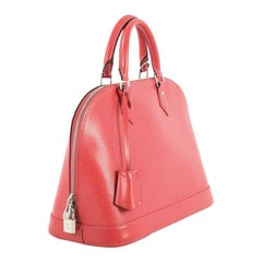 Louis Vuitton Alma Handbag Epi Leather PM