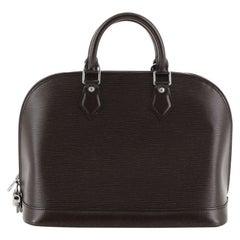 Louis Vuitton Alma Handbag Epi Leather PM