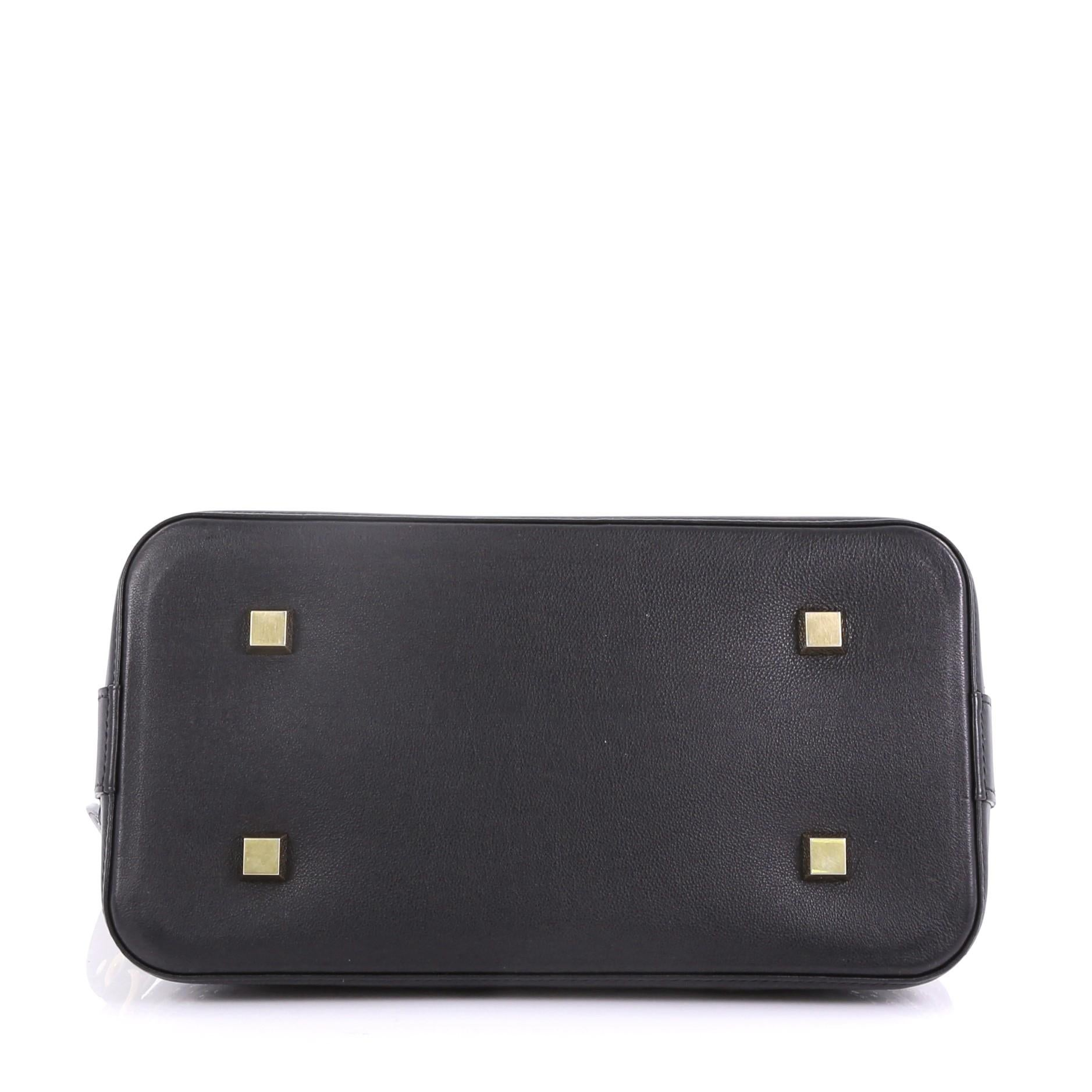 27b39a6f463d Louis Vuitton Alma Handbag Limited Edition Monogram Eclipse Sequins PM at  1stdibs