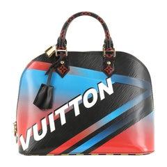 Louis Vuitton Alma Handbag Limited Edition Race Epi Leather PM